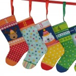 Mini Stocking Bunting 1814_1 Novelty panel