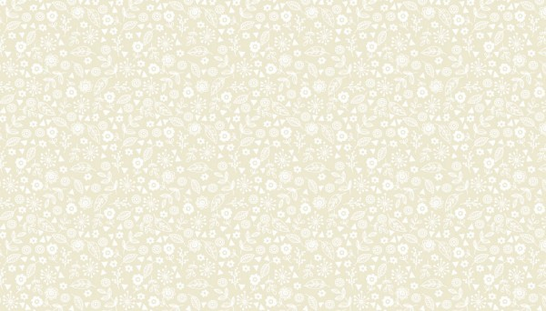 1911/Q2 Doodle Ditzy Light Cream (New)