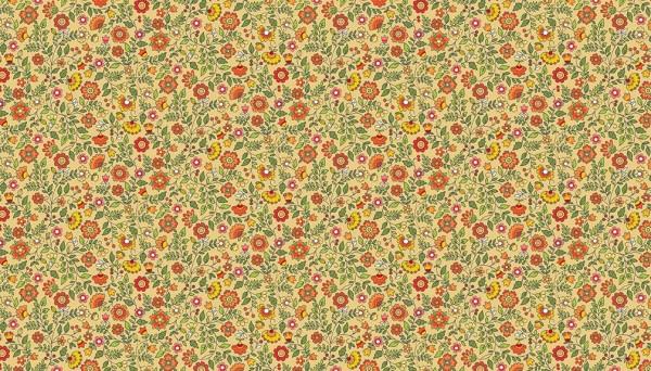 2035/N Floral Scroll