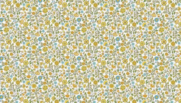 2035/Y Floral Scroll