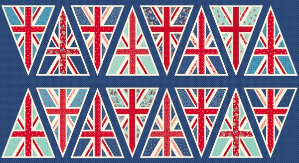 988/1 Union Jack Bunting