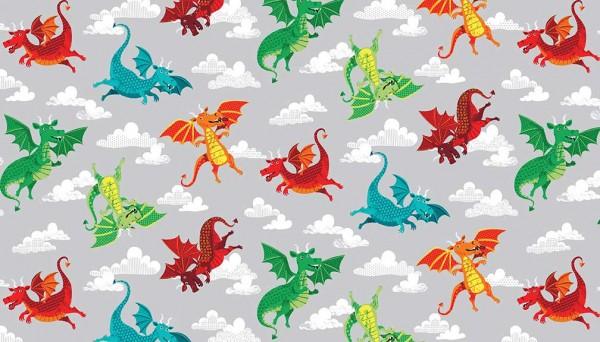 2056/S DragonHeart Dragons Grey