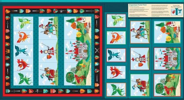 2058/1 DragonHeart Pocket Panel