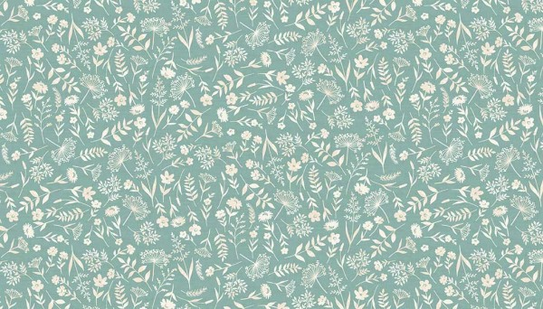 2061/T Woodland Scatter Turquoise
