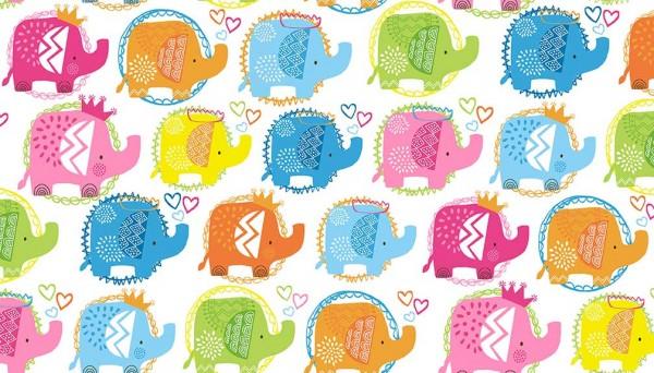 2066/P Ellie Elephants Pink