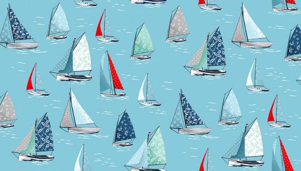 2082/B4 Yachts Sky Blue