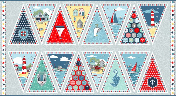 2087/1 Bunting Flags