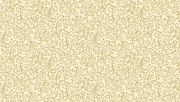 2097/Q Metallic Scroll Cream