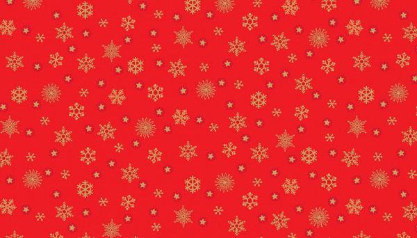2099/R Snowflake Red