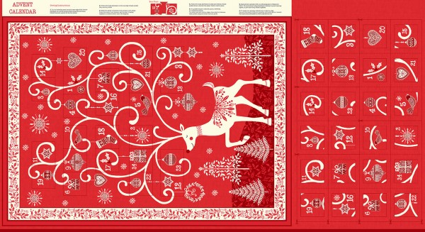 2110/R Advent Calender Red