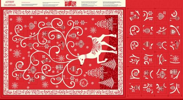 2110/R Reindeer Advent