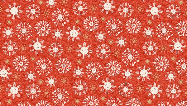 2115/R Snowflake Red