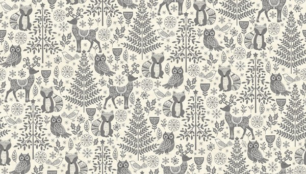 2125/S Forest Animals Grey