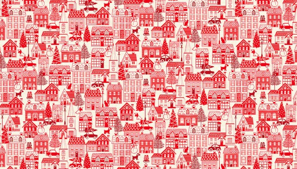 2127/R Houses Red