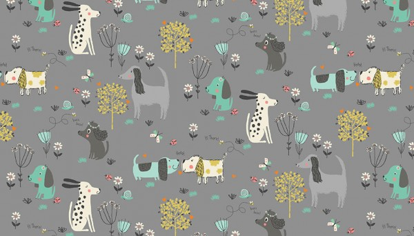 2143/S Dogs Grey