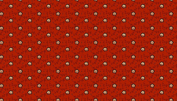 2/9086R Dotty Vines – Red