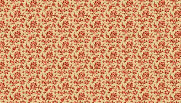 2/9089N Outlined Flowers – Tan