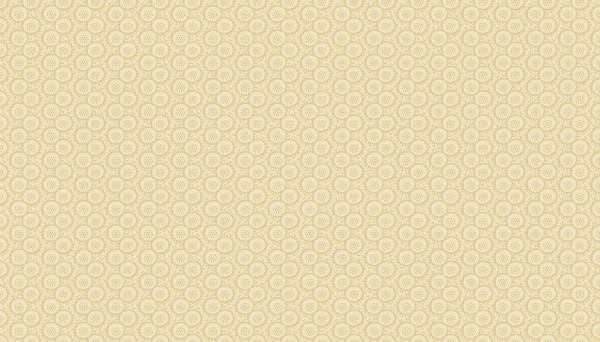 2/9090L Circle Flowers – Tan