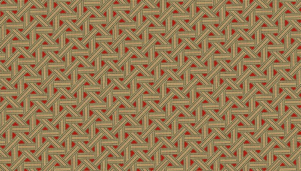 2/9093R Overlapping Ribbons – Red
