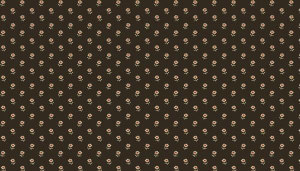 2/9094K Set Daisies – Black