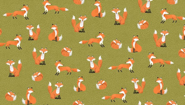 2172/G Foxes – Green