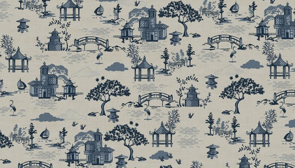 2153/LCQ Scene Linen/Cotton 10m only