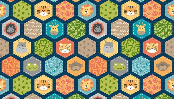 2200/B Hexagons