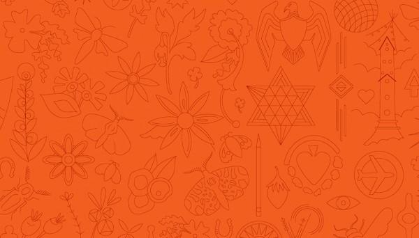 2/9256O Embroidery – Pumpkin
