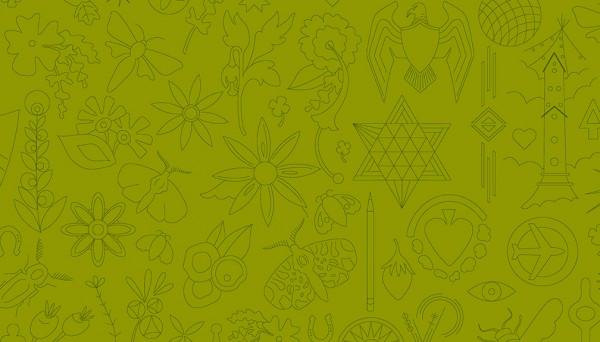 2/9256V Embroidery – Olive