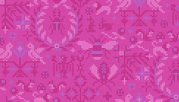 2/9387P Menagerie – Dahlia