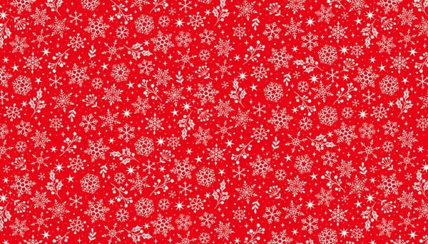 2221/R Snowflake – Red