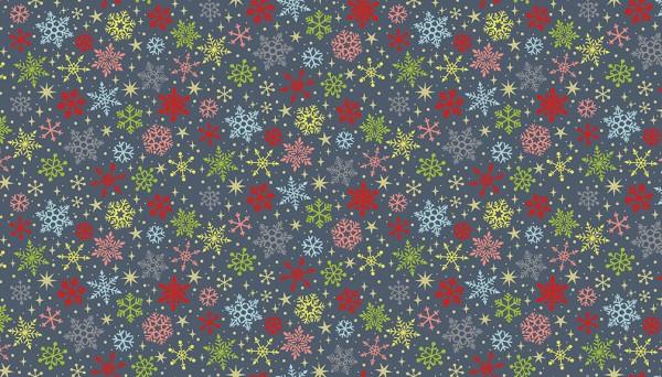 2231/S Snowflakes Grey