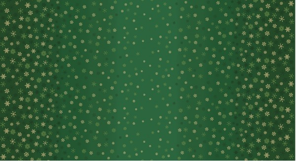2248/G Ombre Snowflake Green