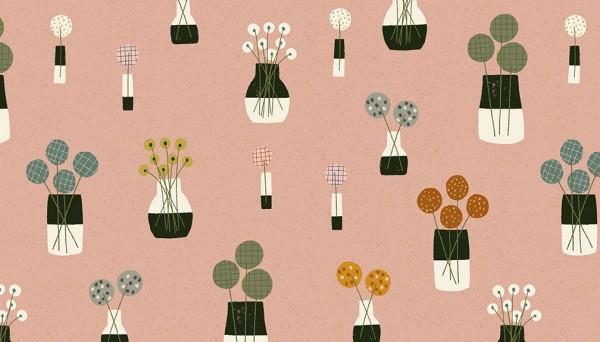 2/9564E Flower Vases – Desert Sand