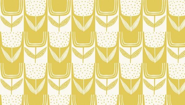 2/9567CY Square Posies – Lemon Meringue
