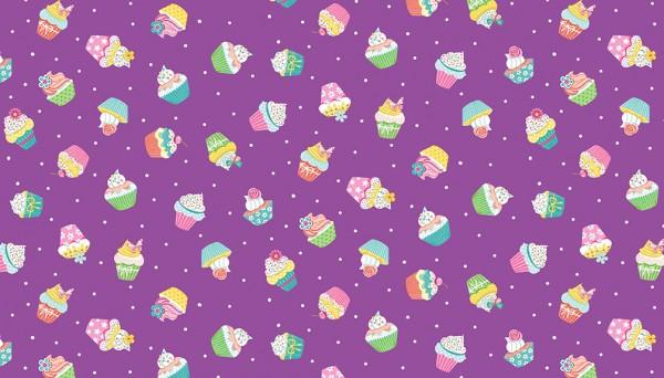 2277/L Cupcakes – Lilac
