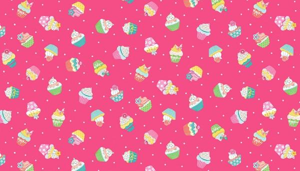 2277/P Cupcakes – Pink