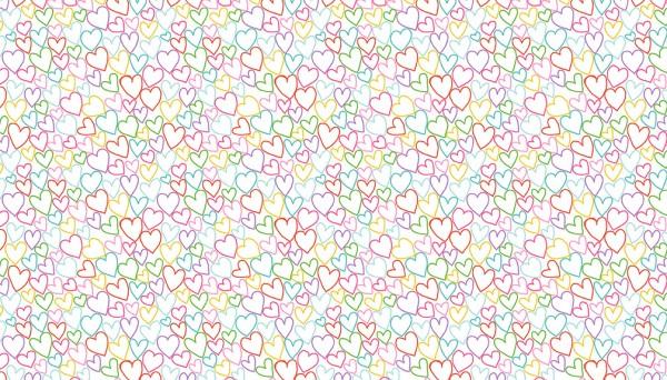2279/W Hearts – White