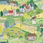 2290_1_Village-Life-Scenic-40x30cms