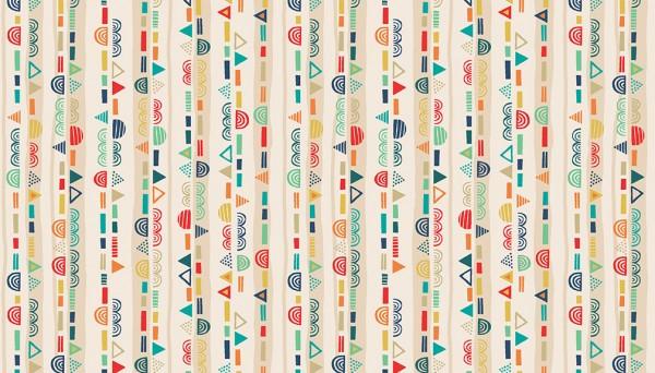 2306/Q Scallop Stripe