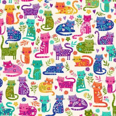 2348/Q Cats Allover