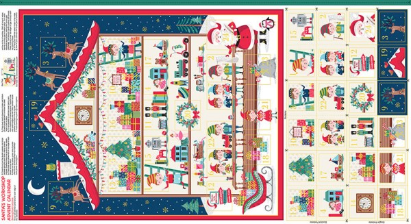 2227/1 Santa's Workshop Advent