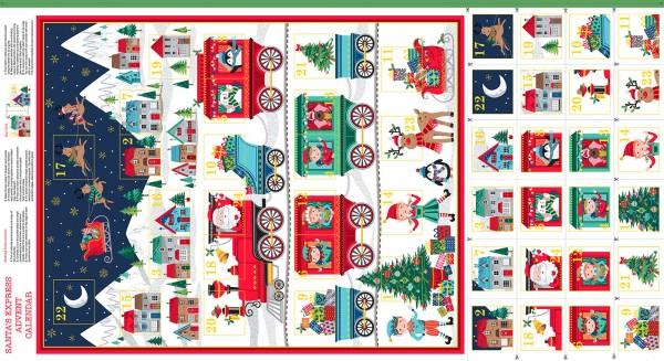 2387/1 Santa Express Advent Panel