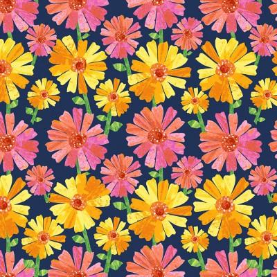 9833/B Floral Fancy