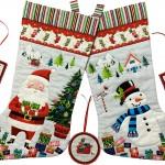 2388_1 Santa Express large stocking